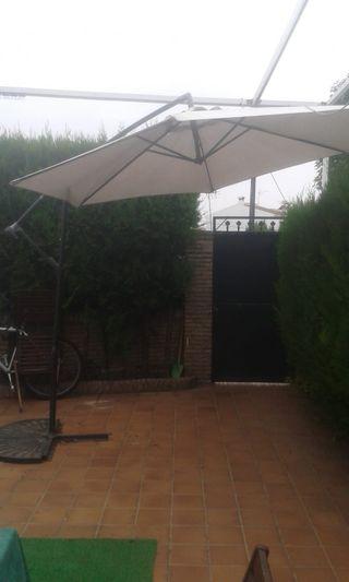 Sombrilla Plegable de Jardín