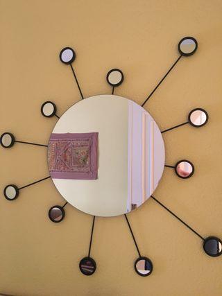 Espejo de pared redondo de Ikea