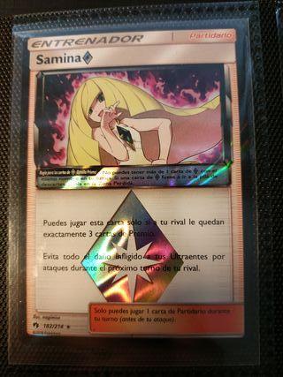 Samina Prisma - Carta Pokemon