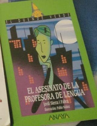 Libro ESO El asesinato de la profesora de lengua