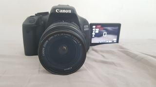 Cámara Réflex Canon EOS 600D
