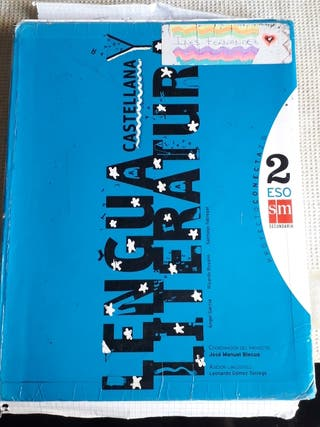 Libro Lengua y literatura castellana 2 ESO