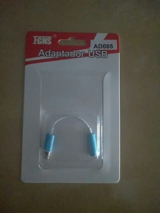 Adaptador iphone para auriculares