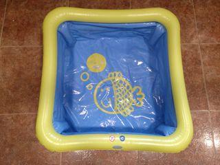 Bañera hinchable de bebé a niño para ducha o viaje