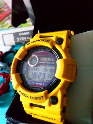 """Casio Frogman GWF-1000-1 + 2 conjuntos de """"ropa"""""""