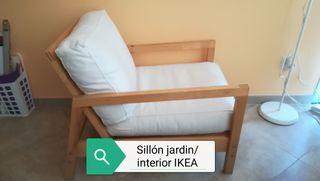 Sillón jardin/interior IKEA