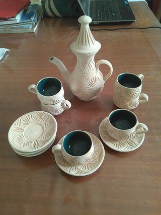 Juego de té artesano Túnez