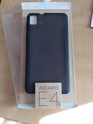 Funda BQ Aquaris E4.5 gummie