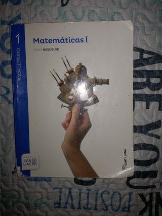 libro matematicas 1 bachillerato santillana