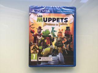 Juego PSVita Los Muppets Aventura de Pelicula