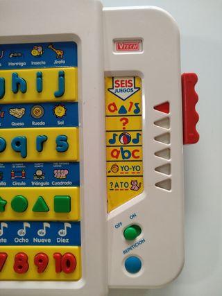 juguete alfabeto parlanchín