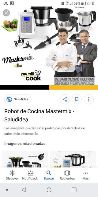 robot de cocina mastermix nueva