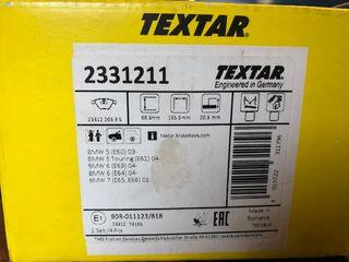 Pastillas de freno TEXTAR 2331211 para BMW nuevas