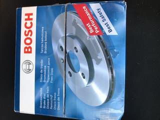 Discos y pastillas freno Bosch golf 6 VI