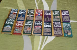 13 libros coleccion dorada Stephen King + Rabia