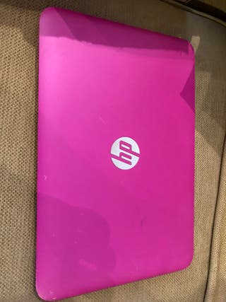 portatil hp rosa