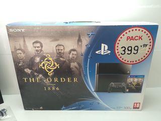 Consola PS4 Fat 500gb Completa
