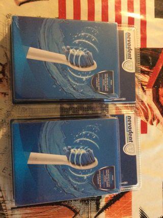 Recambios para cepillo de dientes.