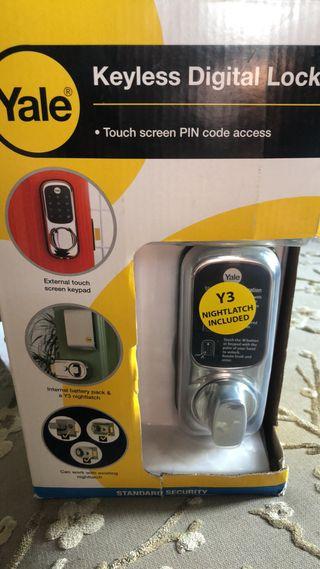 Yale keyless digital lock brand new in box