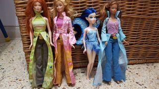 Muñecas Barbie colección