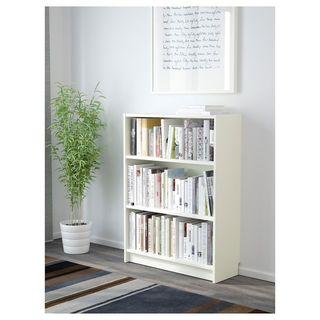 Librería estantería blanca ikea 5 baldas