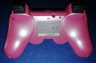 MANDO PARA PLAYSTATION 3 PS3 DUALSHOCK 3 (ROSA)
