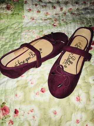 0cff6778011 Zapatos de fiesta niñas de segunda mano en WALLAPOP