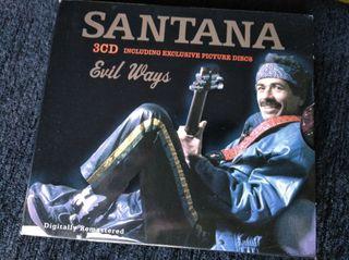 Triple CD SANTANA