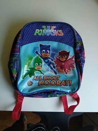 mochila escolar PJMASKS