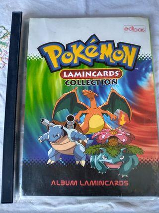 álbum Pokemon lamincards casi completo
