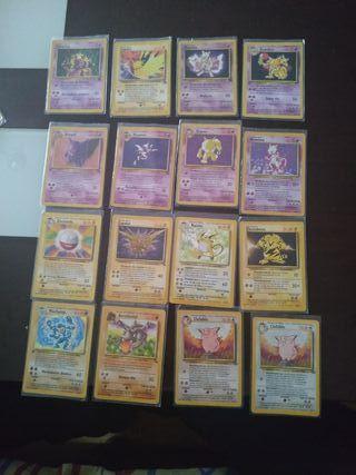 Cartas Pokémon Primera Generación