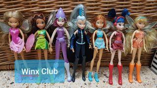 Muñecas Winx Club colección