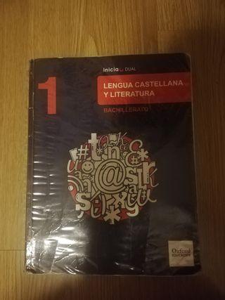 Libro de Lengua castellana y literatura, 1° bach