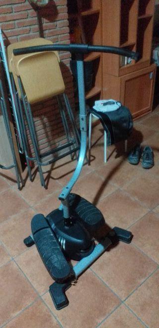 remo de ejercicio se mueble el manillar