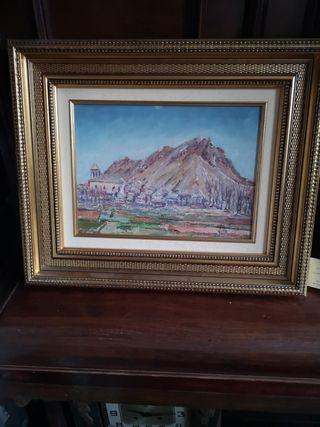 cuadro 44 x 51 cms
