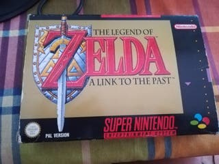 Zelda a link to the past, Super Nintendo