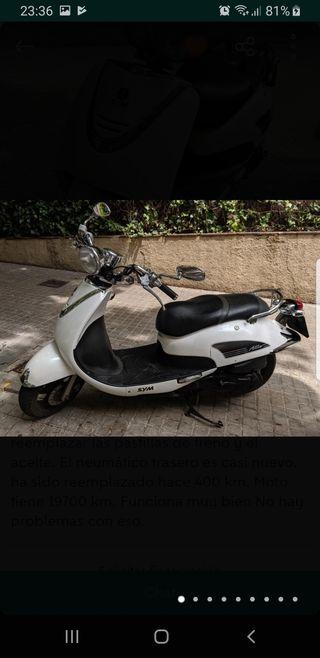 moto sym allo del 2015 con 20mil km y regalo casco
