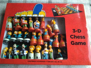 Juego ajedrez Los Simpsons