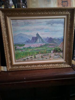 cuadro 71 x 82 cms