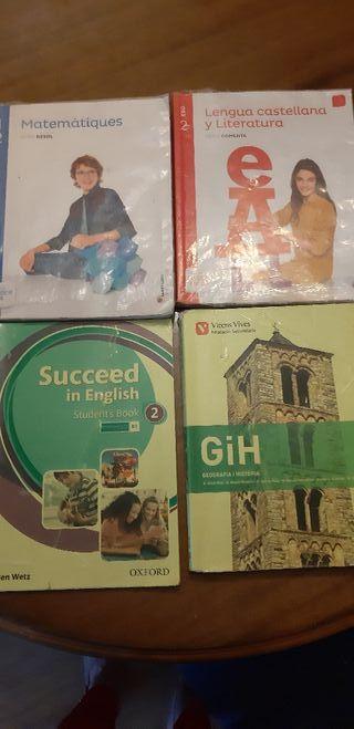 libros 2° eso escola Montserrat