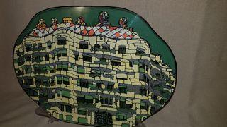 Plato decorativo de la Pedrera Gaudí