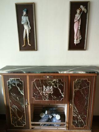 Mueble chimenea