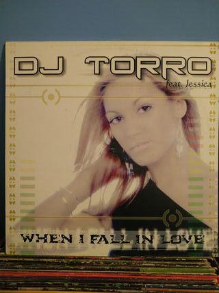 disco vinilo Dj Torro When i fall un love