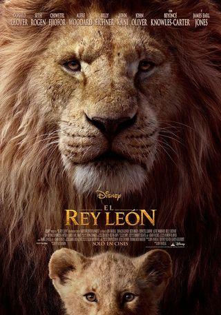 POSTER ORIGINAL EL REY LEON