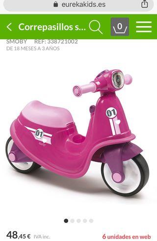 Correpasillos Scooter/ Moto