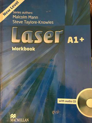 Libro inglés Láser A1 workbook isbn 9780230424630