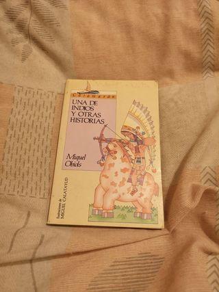 libro una de indios y otras historias