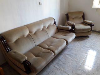 se vende sofa y sillones vintage