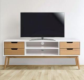 Mueble TV Aparador Madera Nordica