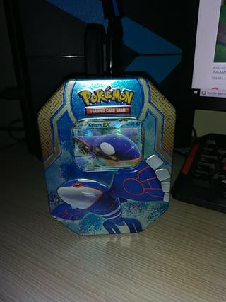 Caja metalica pokemon + sus cartas